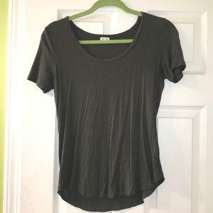 Garage army green shirt